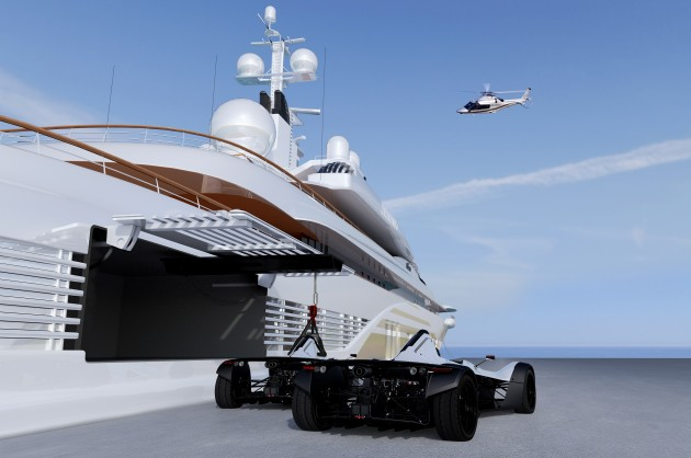 Pictures Former Yacht Designer Creates Supercar For Superyachts Ybw