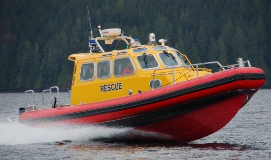 Canadian Coastguard lifeboat