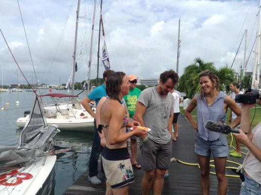 Lizzy Foreman Mini Transat Îles de Guadeloupe 2015