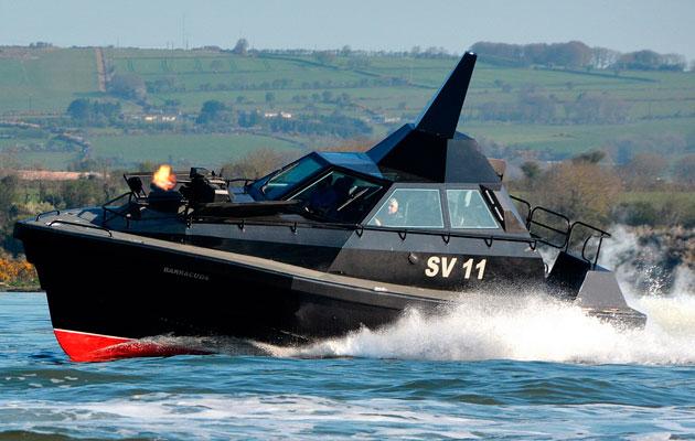 Barracuda SV11 stealth boat