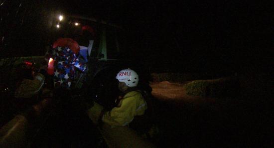 RNLI rescue in Cumbria