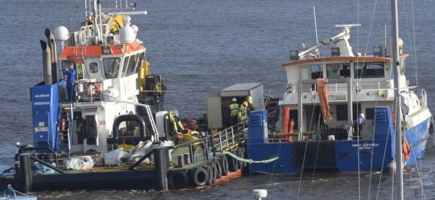 MMV Ostrea salvage operation