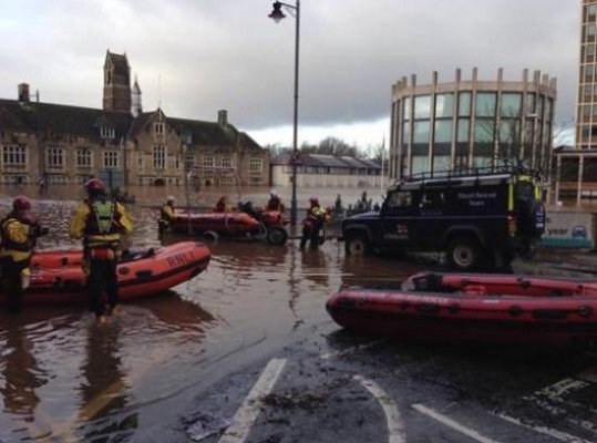RNLI rescue in Cumbria