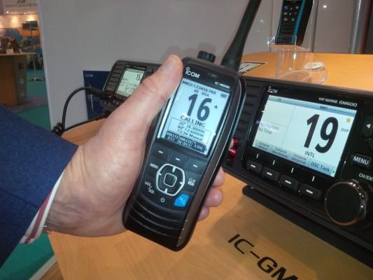 Icom's IC-M93D Next Generation Handheld VHF/DSC Marine Radio