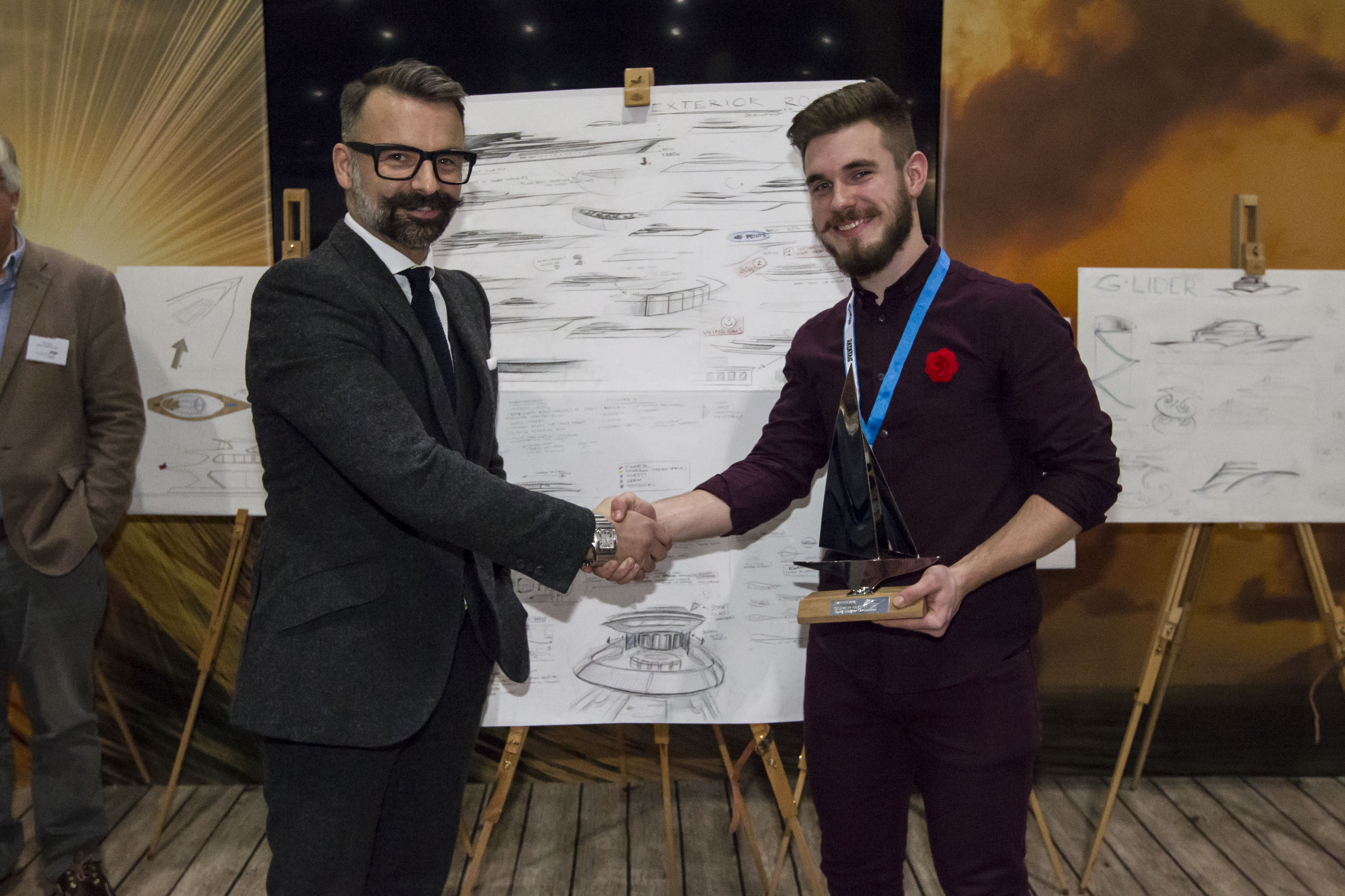 Coventry university student wins the superyacht uk young for Nicholas designer
