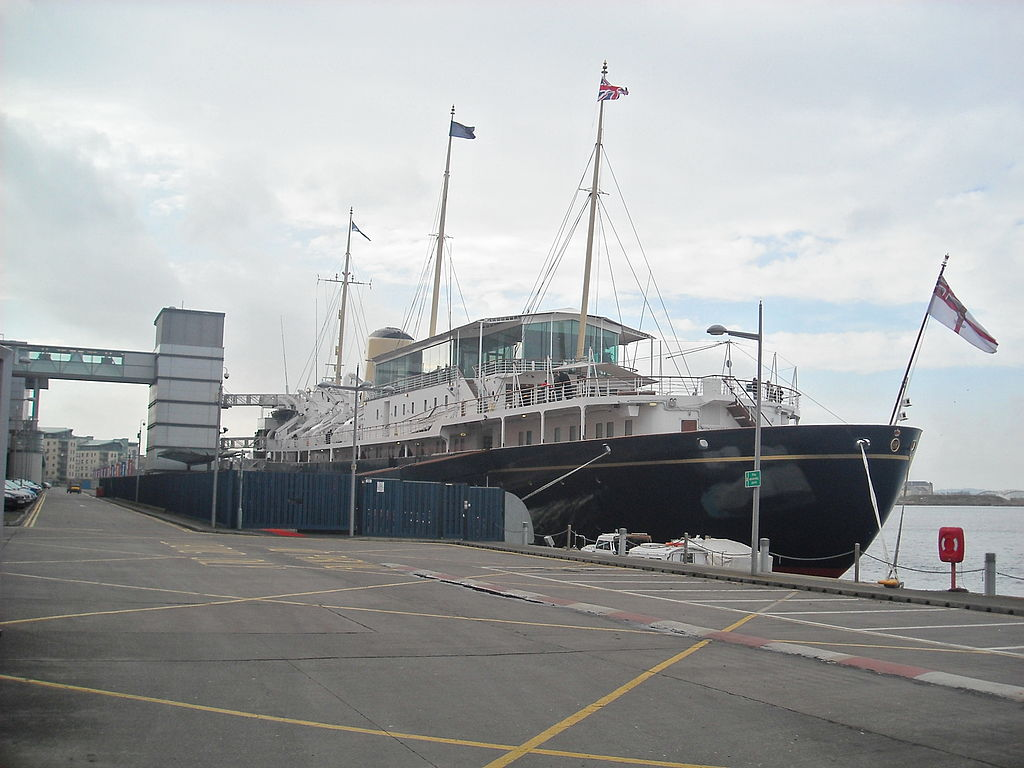 Visitors Flock To Visit Royal Yacht Britannia As It S
