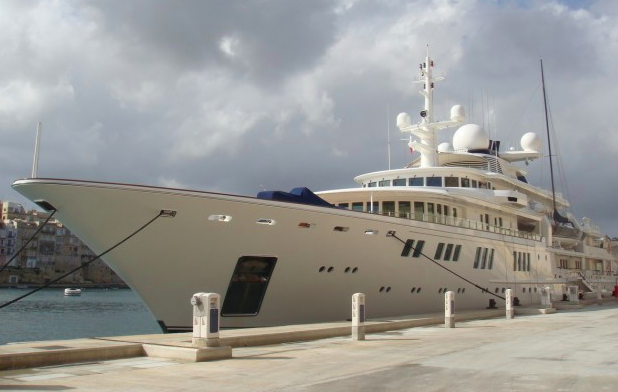 Paul Allen's yacht's MV Tatoosh