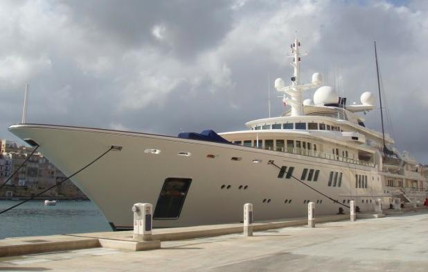 Paul Allen's yacht's MV Tatoosh
