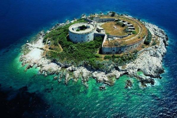 mamula-island-aerial-photo