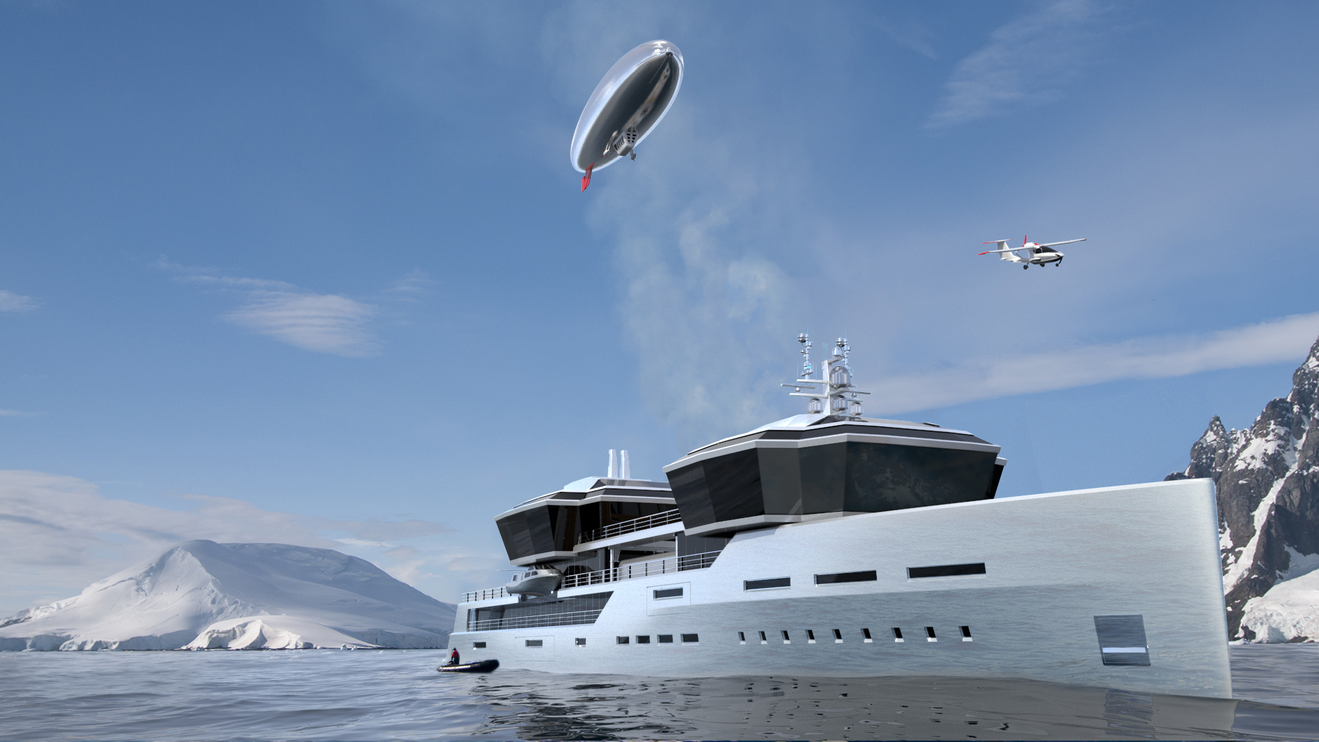 Pictures: New 100m superyacht design promises global ...