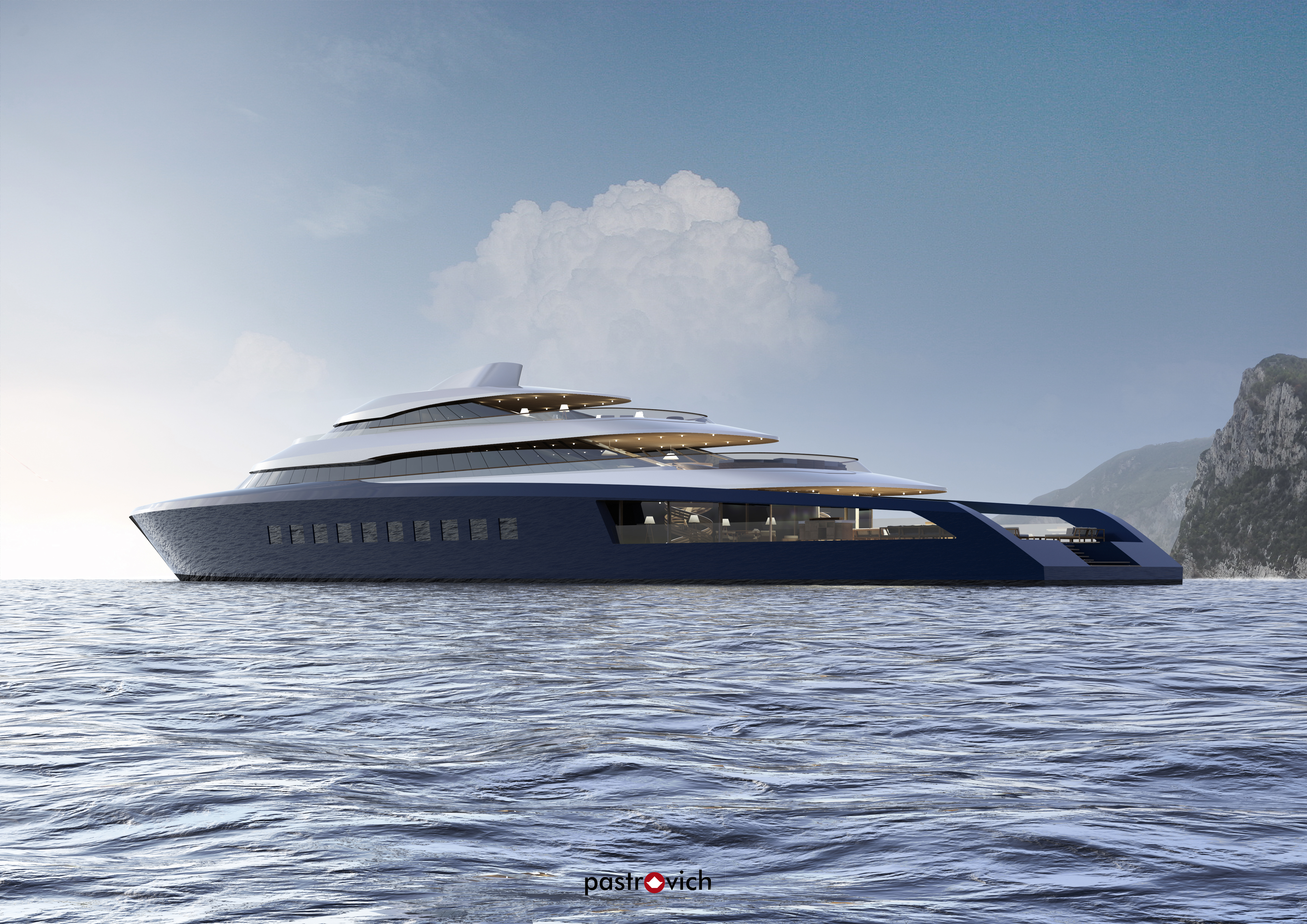 pictures stefano pastrovich s new 80m x prime yacht ybw
