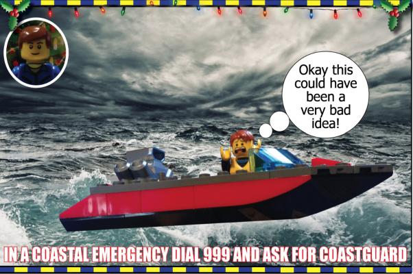 LEGO The Coastguard Team 3
