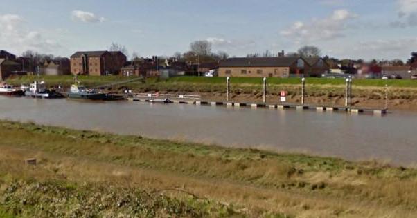 Site of new marina at Sutton Bridge, Liuncolnshire