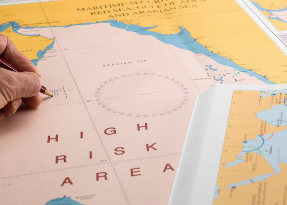 Warnings of counterfeit Admiralty charts and publications