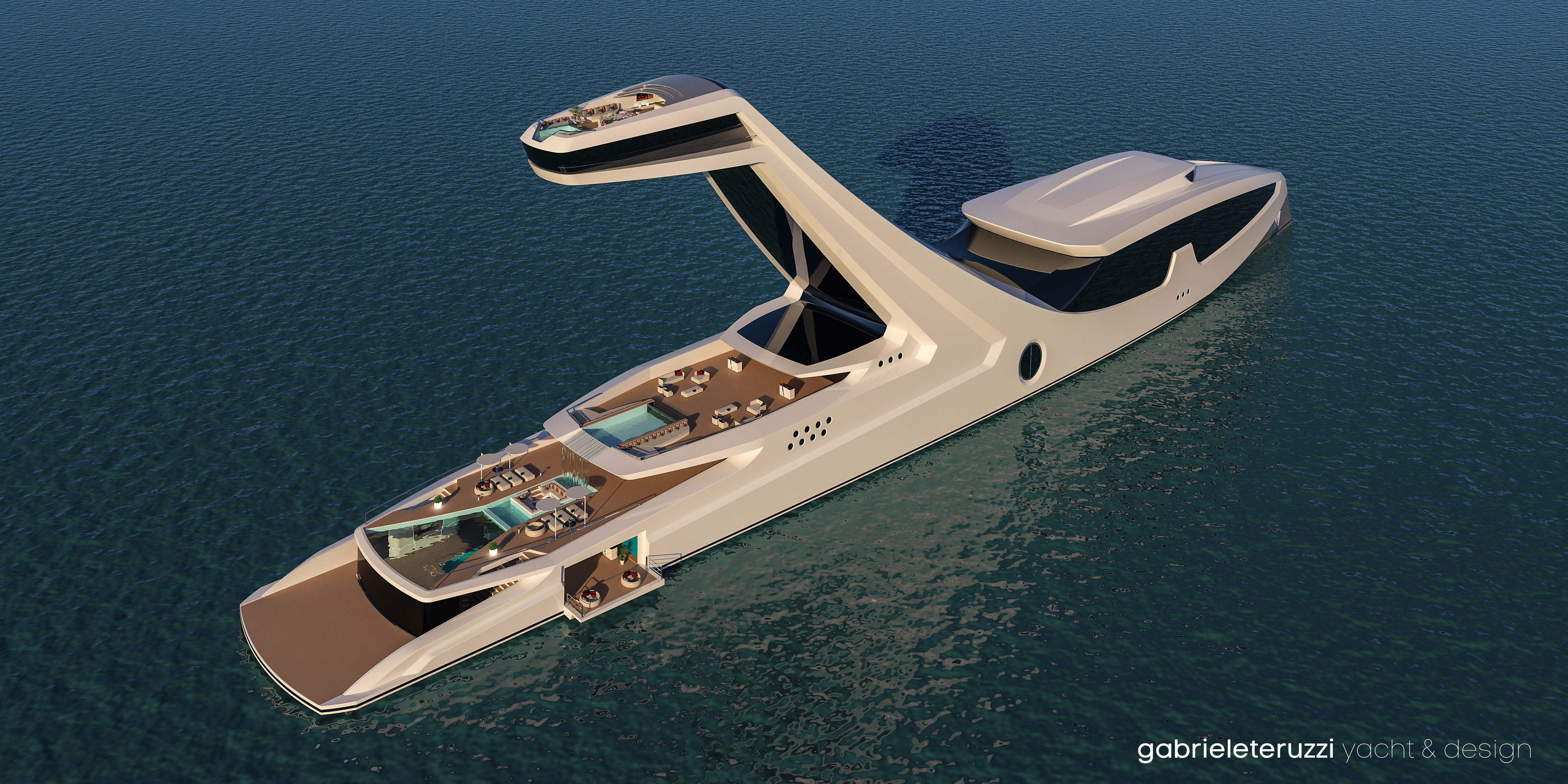 Pictures the towering shaddai superyacht ybw for Arredo barche