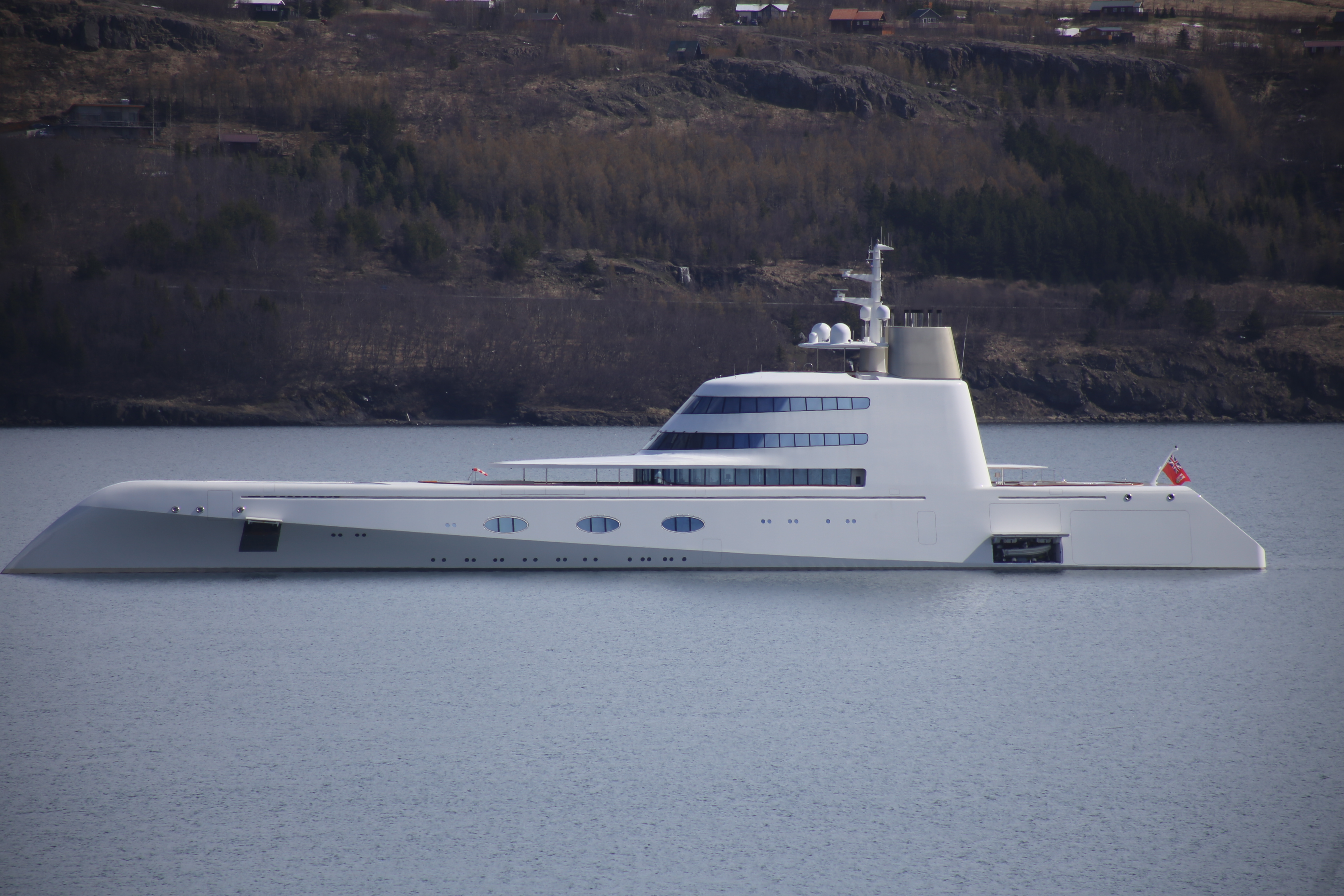 Andrey Melnichenko's Superyacht A which is on sale for $300 million