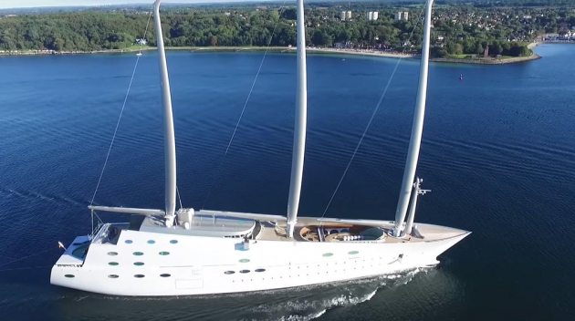 Sailing Yacht 'A' by Philippe Starck