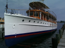 The yacht was used by the Department of Commerce as a decoy to catch criminals during the Prohibition era before being commissioned as the presidential yacht in 1933
