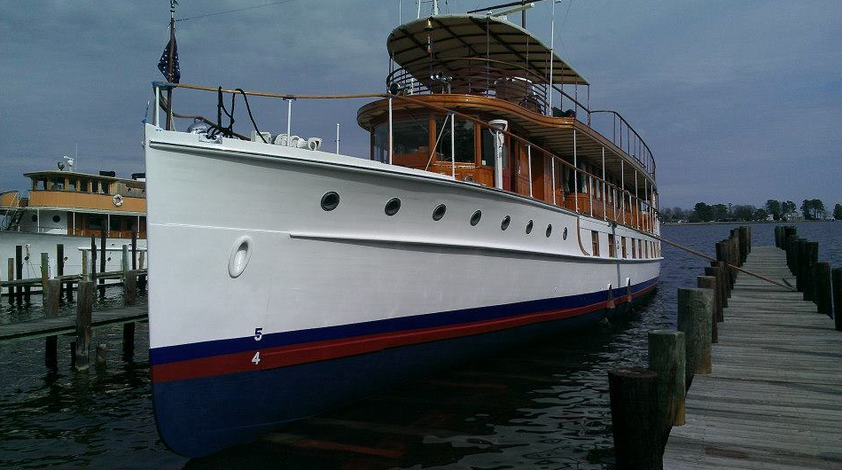 Former Presidential Yacht Uss Sequoia Can Be Sold For 0 Ybw