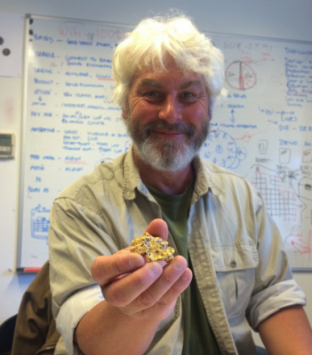 Vincent Thurkettle has discovered Britain's biggest gold nugget off Wales