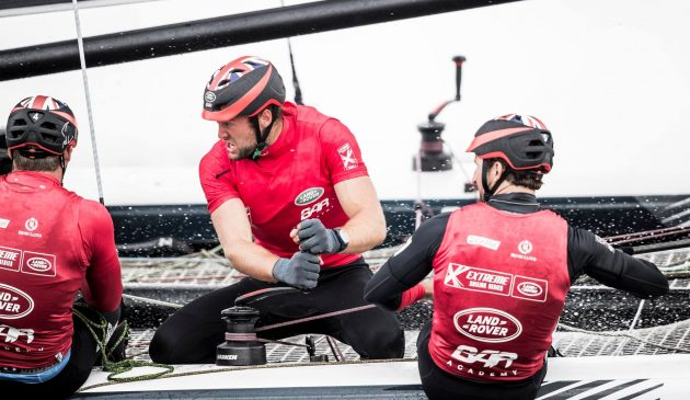 Land Rover BAR Academy Extreme Sailing Series Cardiff