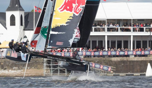 Team Red Bull Extreme Sailing Series Cardiff 2016