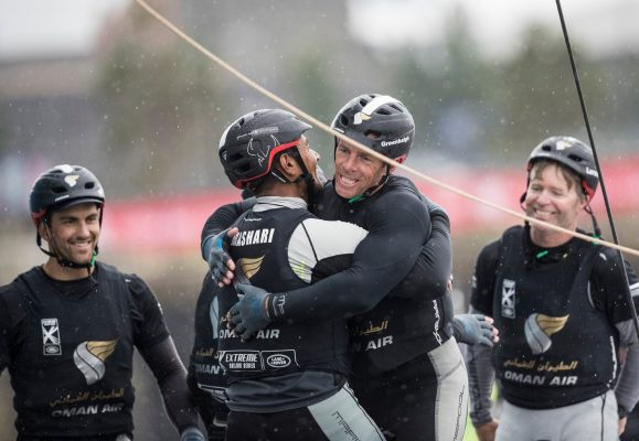 Oman Air take victory at the Extreme Sailing Series™ Act 3, Cardiff