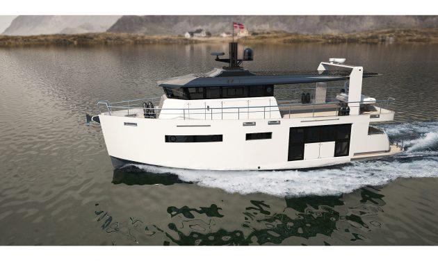 Max Zhivov designed MYBO modifiable yacht system