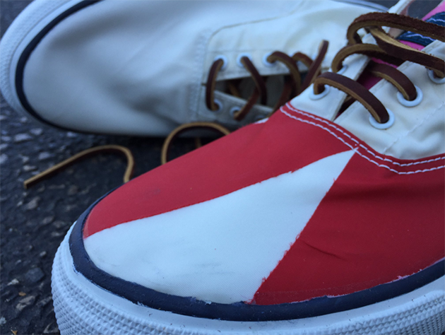 Exclusive recycled sailcloth footwear launched - YBW 63555966eead