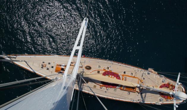 Ketch sailing yacht, Alejandra