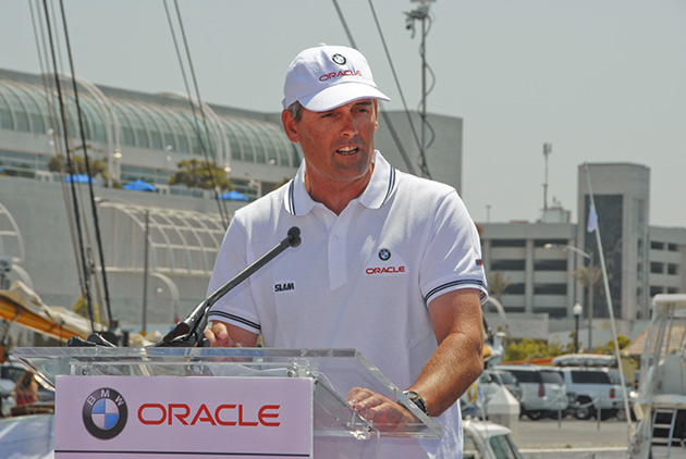 Sir Russell Coutts America's Cup