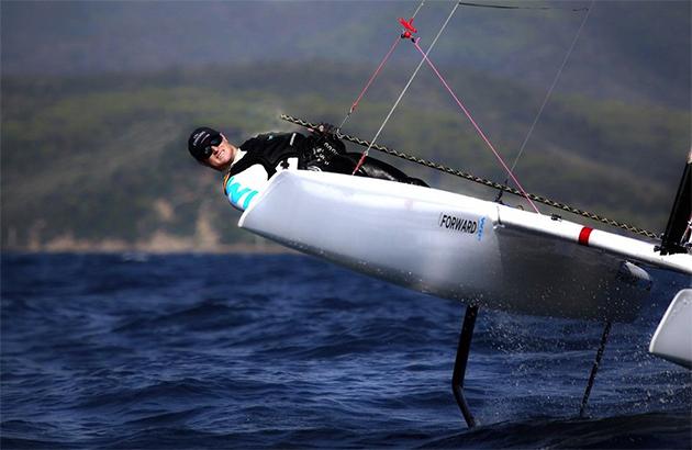 Glenn Ashby - skipper of Emirate New Zealand, America's Cup