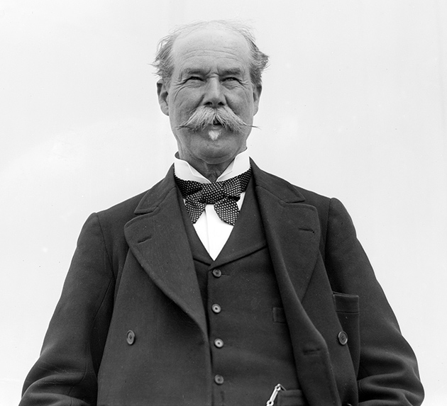 Sir Thomas Lipton challenged for the America's Cup five times between 1899 and 1930.
