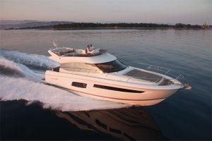 Ancasta will present the Prestige 560 at Southampton Boat Show 2016