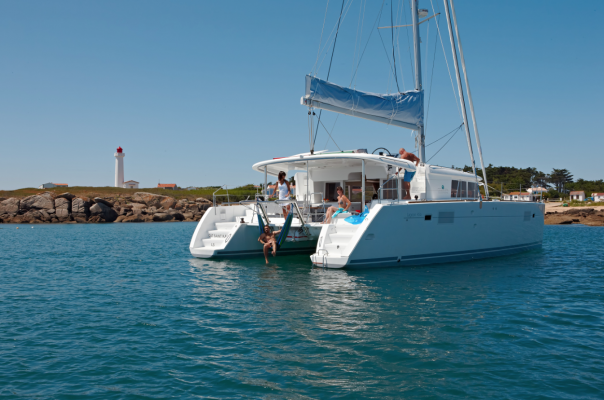 Ancasta presents the Lagoon 450F at the Southampton Boat Show