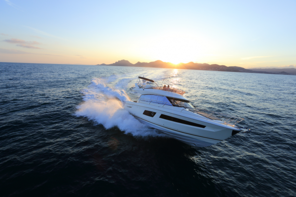 Ancasta presents the Prestige Flybridge 450 at the Southampton Boat Show