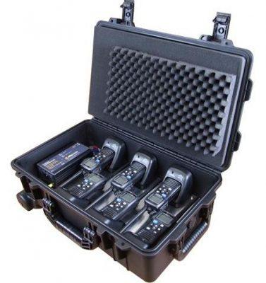 Icom VHF peli case