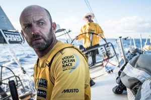 Ian Walker during the Volvo Ocean Race