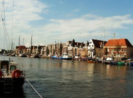 Harlingen is a fishing village on the Wadden Sea