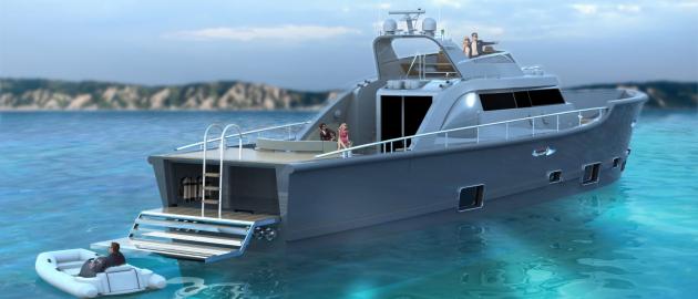 Luxury sports yacht, Seafire