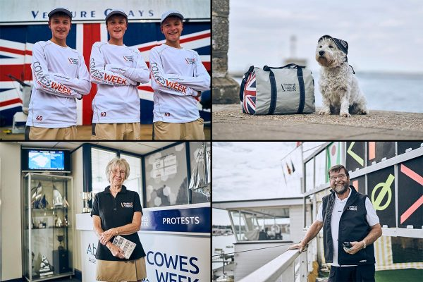 Cowes Week 2016 people behind the scenes canvas