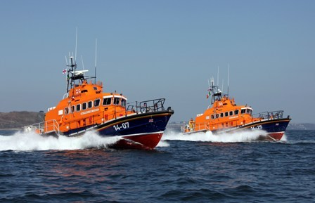 Courtmacsherry RNLI operating off West Cork