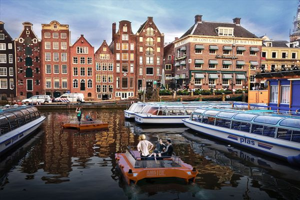 Self-driving boats, known as Roboat, will be trialled in Amsterdam over the next 5 years
