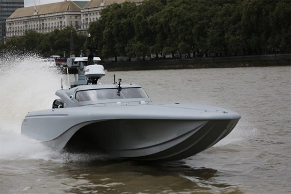 MAST - the Royal Navy's unmanned boat