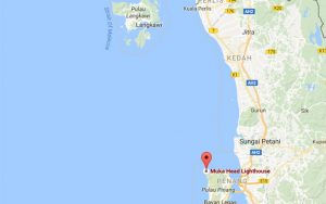 Area of search in Malaysia for missing crew from M/Y UN1K