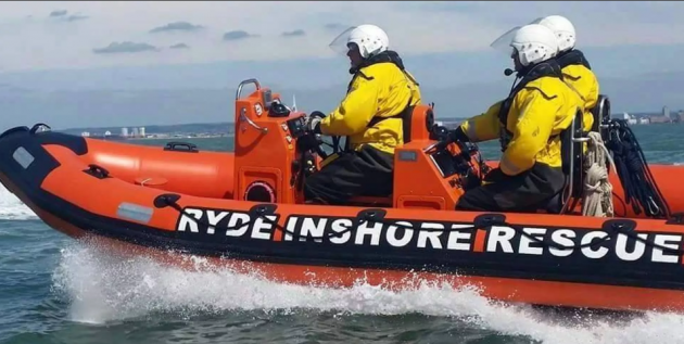 Ryde Inshore lifeboat rescue