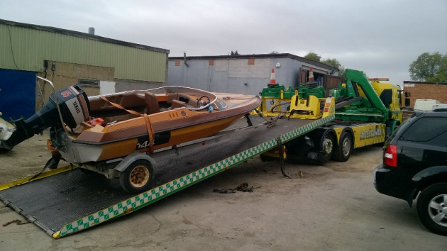 Stolen speedboat on River Cam recovered by Cambridge police