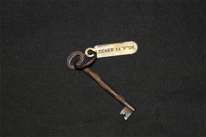 Lifejacket locker key on the Titanic