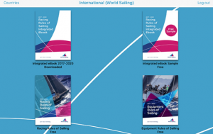 World Sailing Rules app from the RYA and World Sailing