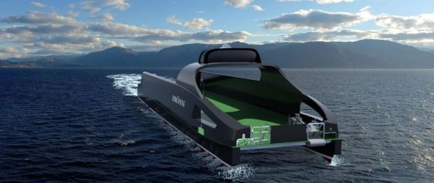 Hrönn: World's first unmanned and fully-automated ship